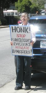 SF 99% Coalition at City Hall Foreclosure Auctions